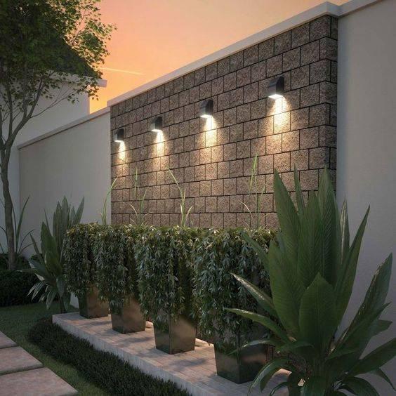 Garden Wall Lights - Garden Lighting Ideas