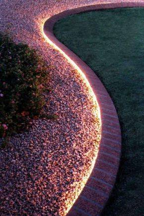 Getting Creative - With Garden Edging