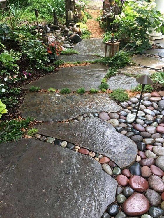 Plenty of Space - Easy Garden Path Designs