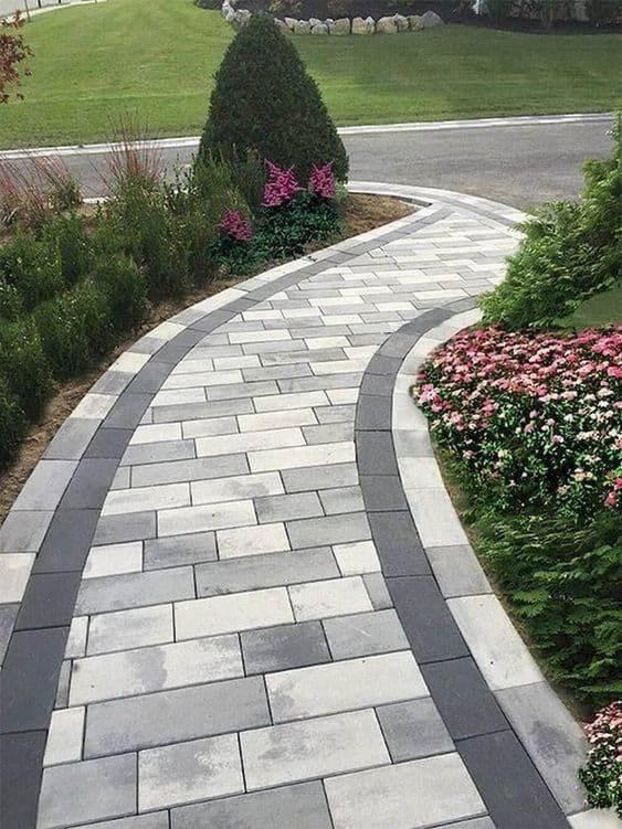 Shades of Grey - Garden Walkway Designs