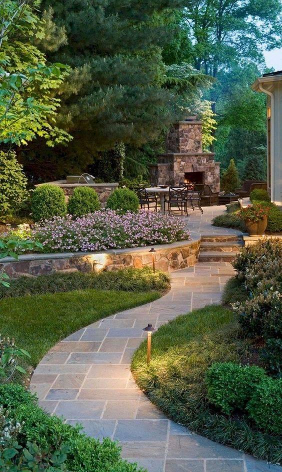 Adding the Right Lighting - Garden Walkway Ideas