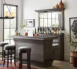 A Bar Cabinet - Modern Home Bar Ideas
