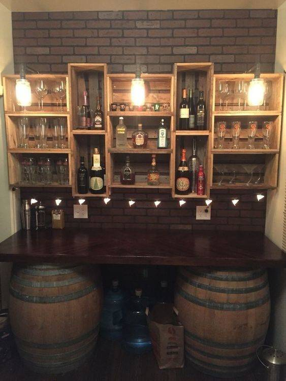 A Unique Bar Table - Working with Barrels