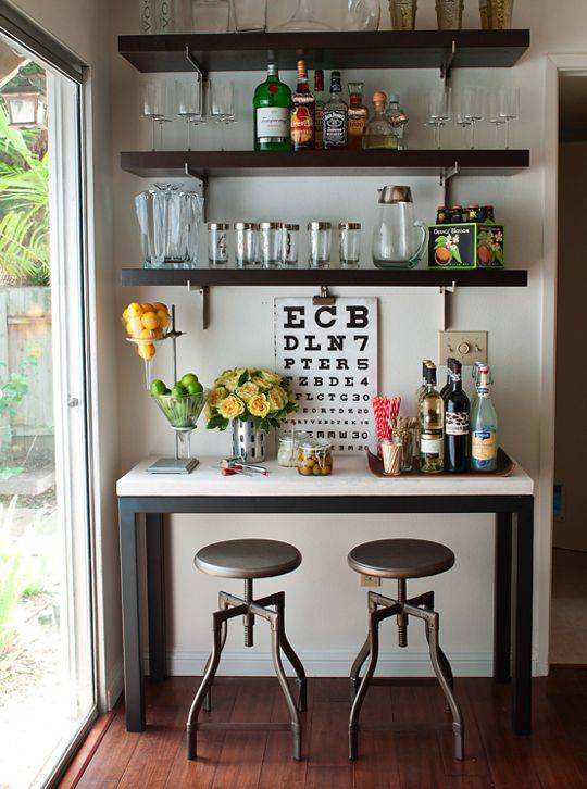Easy and Effortless - Modern Home Bar Ideas