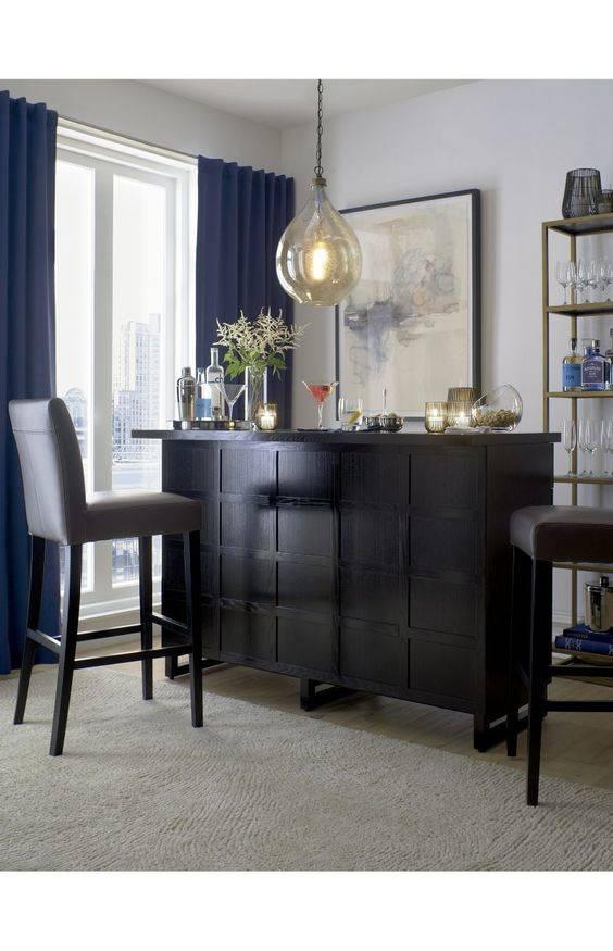 A Peaceful Atmosphere - Living Room Bar Ideas