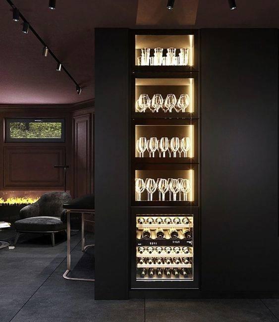 Living Room Bar Ideas - Beautiful and Elegant