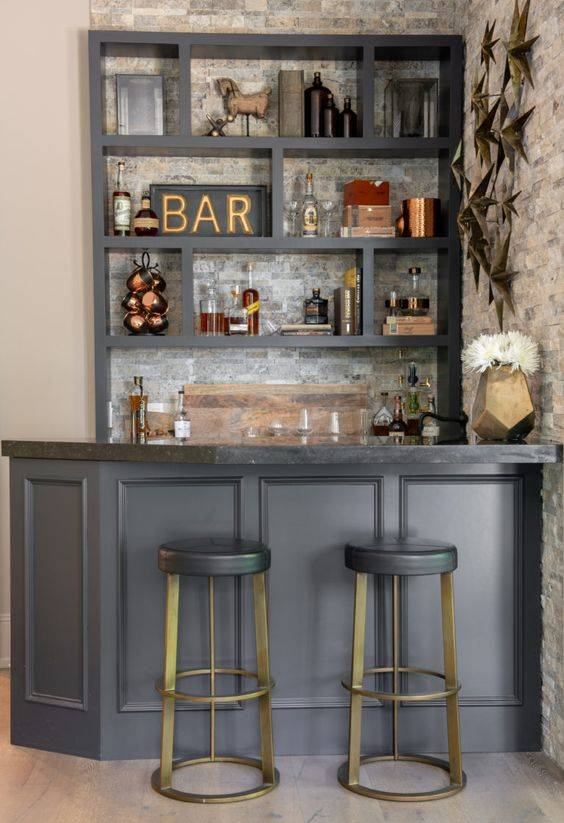 The Right Sort of Ornaments - Home Bar Design
