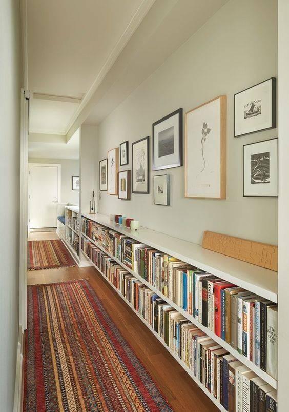 Along Your Corridors - Fabulous Bookcase Designs