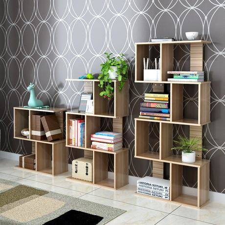 A Box Hole Bookcase - Simplistic and Fabulous