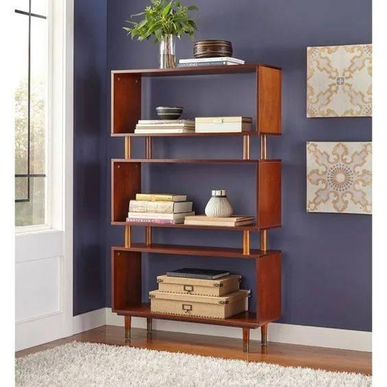 A Sophisticated Look - Bedroom Bookshelf Ideas