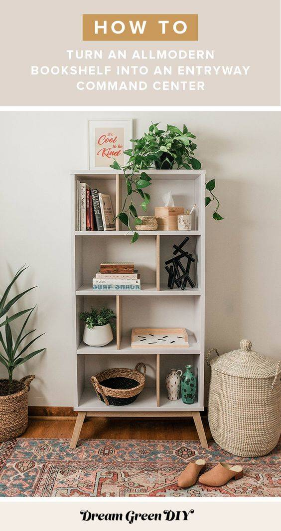 All About Organisation - Decorating Your Bookshelf