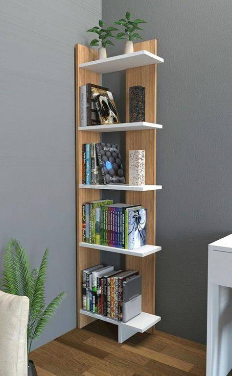 Fitting it in the Corner - Bookshelf Designs