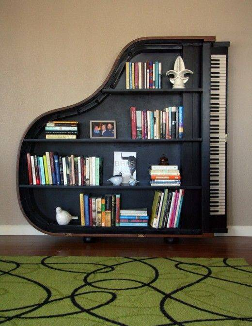 Reimagine and Recycle - Bedroom Bookshelf Ideas