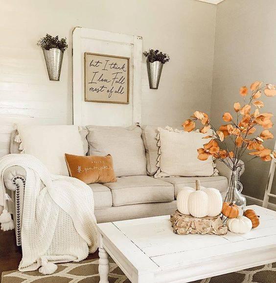 Clean and Simplistic - Bursts of Orange