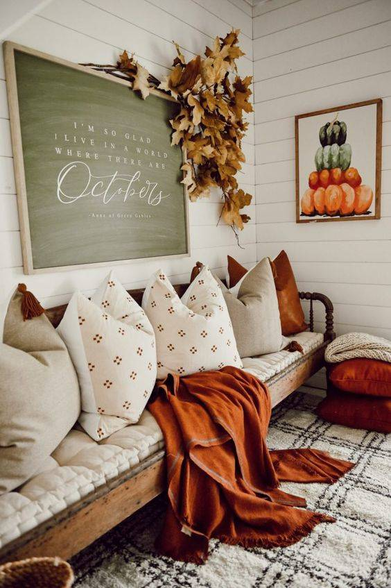 Cosy and Comfortable - Autumn Living Room Decor