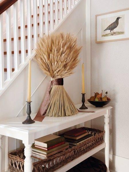 Happy Harvesting - Fall Living Room Decor