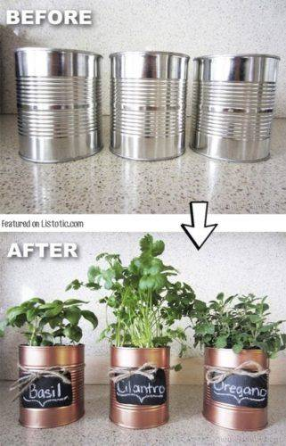 Old Aluminium Cans - Ready to Recycle