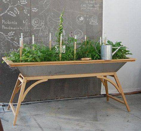 Build a Table - Out of a Large Tub