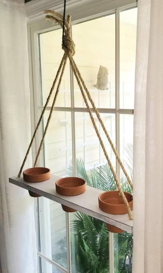 Terracotta Pots - Best Indoor Herb Garden Designs
