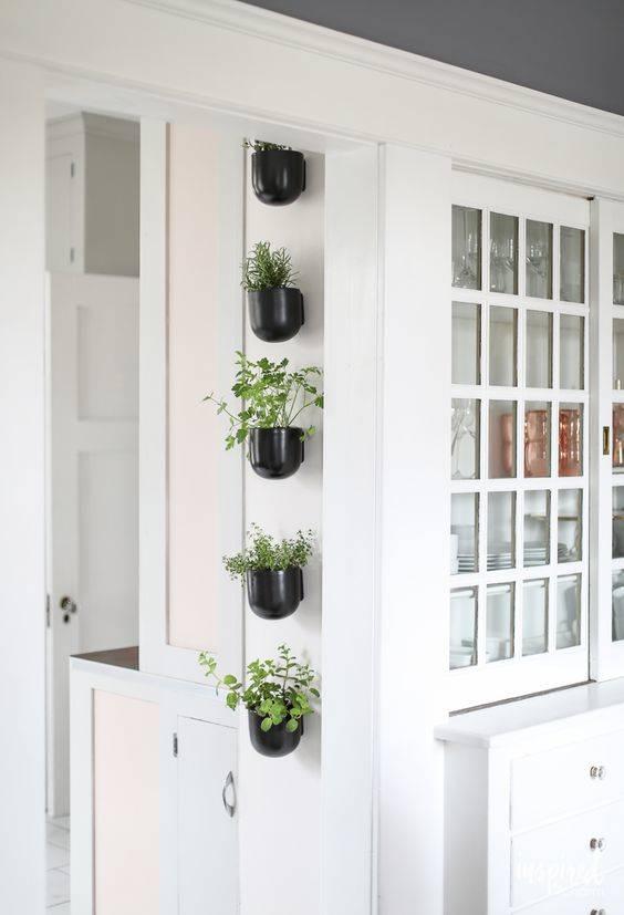 Saving Space - Fantastic Indoor Herb Garden Planters