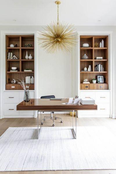 Adding a Centrepiece - Home Office Interior Design Ideas