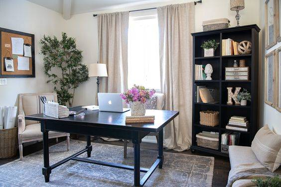 Simple and Organized - Modern Home Office Design