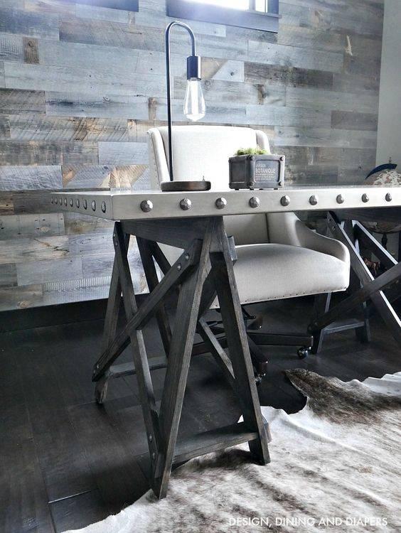 A Unique Desk - Edgy and Bold
