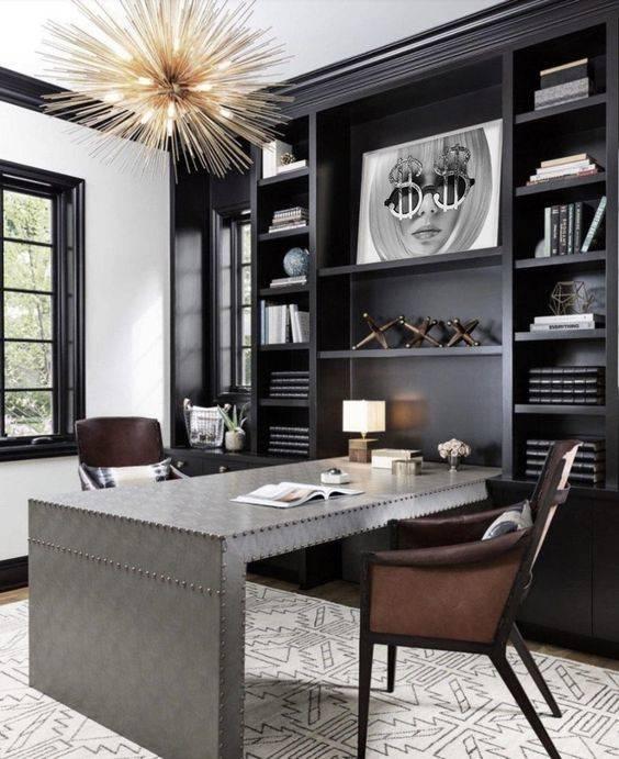 Sleek and Chic - Modern Home Office Design