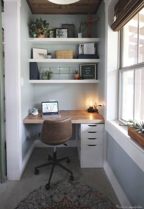 Reinventing a Small Space - A Tiny Office