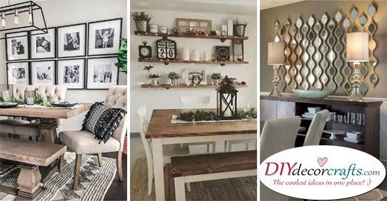20 DINING ROOM WALL DECOR IDEAS - Dining Room Wall Ideas