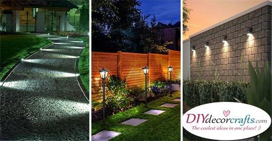 20 GARDEN LIGHTING IDEAS - Backyard Lighting Ideas