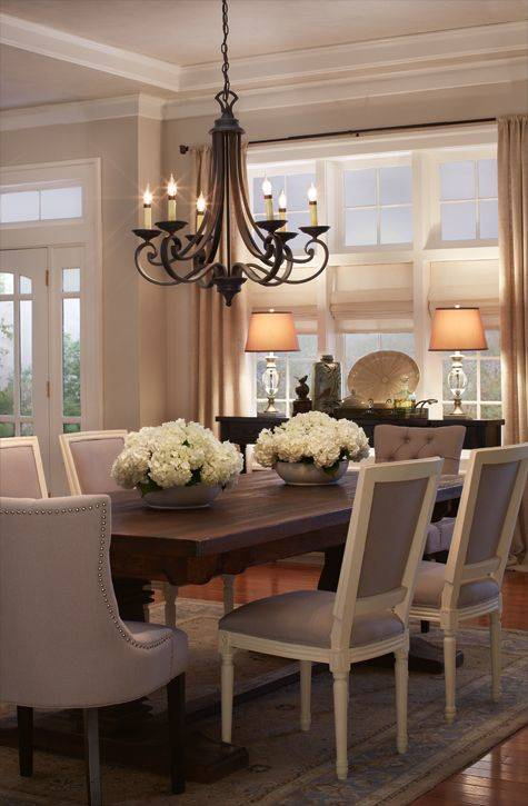 An Awesome Chandelier - Modern Dining Room Chandelier