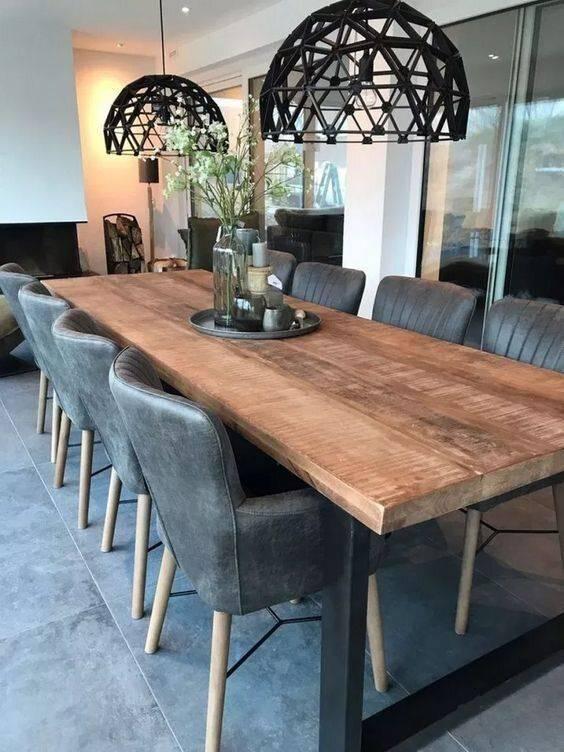 Geometric and Groovy - Modern Dining Room Lighting