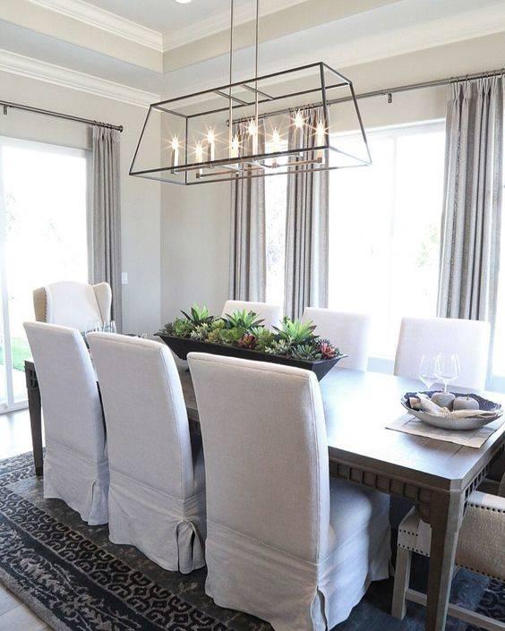 A Lantern Chandelier - Modern Dining Room Lighting Designs