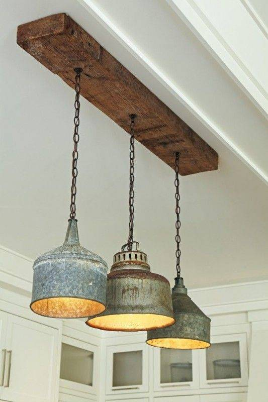 Use Recycled Objects - Work with Galvanized Metal