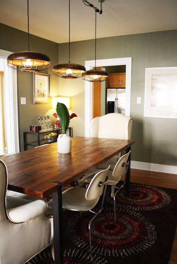 A Vintage Look - Dining Room Lighting Fixture Ideas