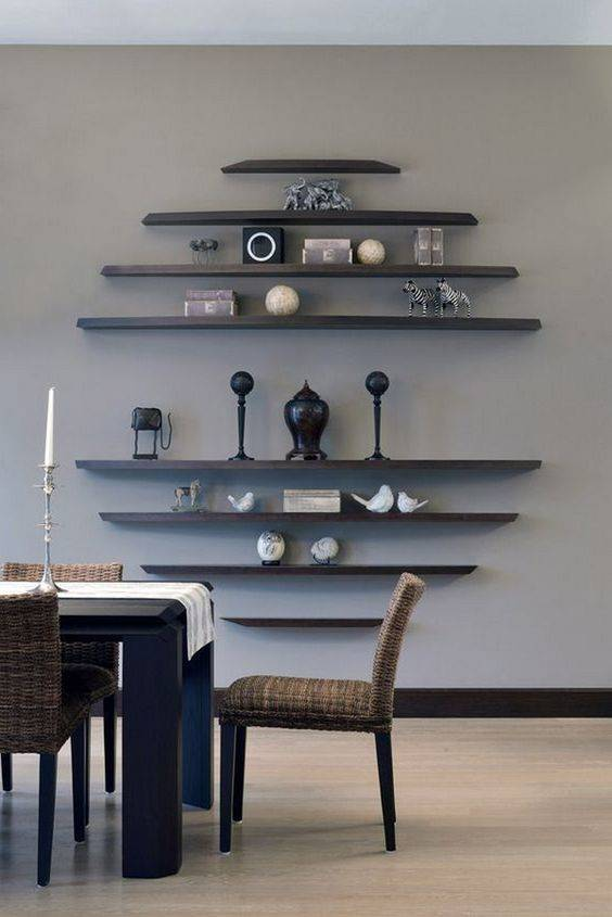 Floating Shelves - In a Creative Manner