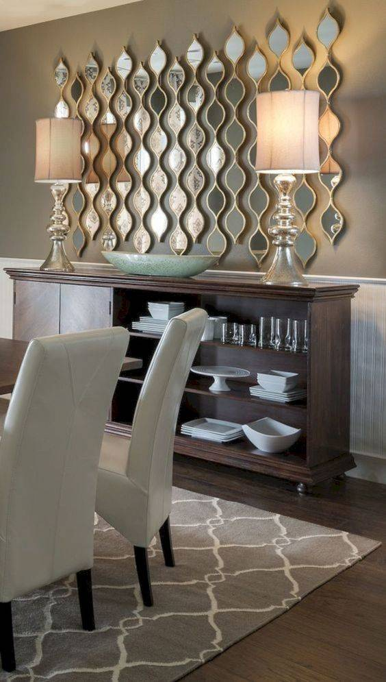 Gorgeous and Groovy - Dining Room Wall Decor Ideas