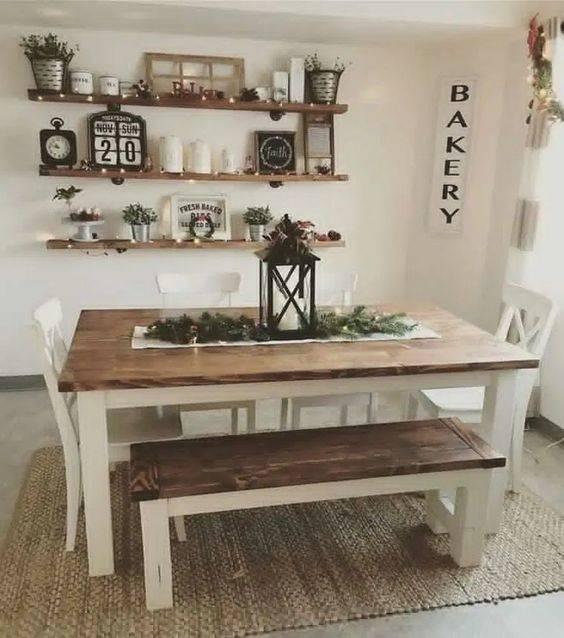 An Amazing Arrangement - Dining Room Wall Ideas