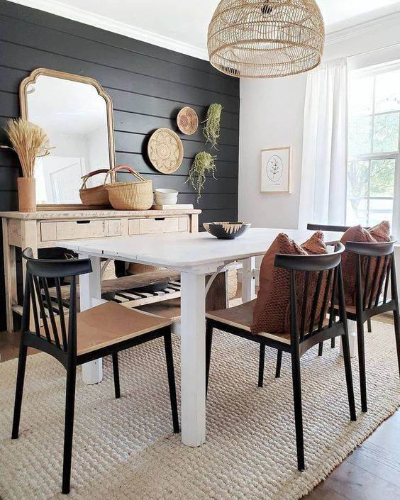 Brilliant and Bohemian - Dining Room Wall Decor Ideas