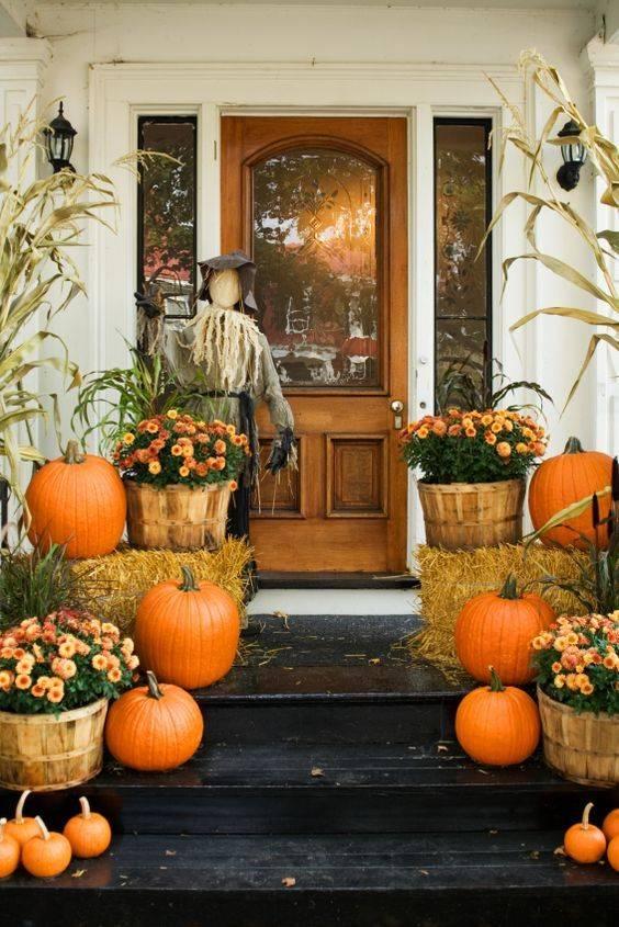Add a Scarecrow - A Fabulous Choice