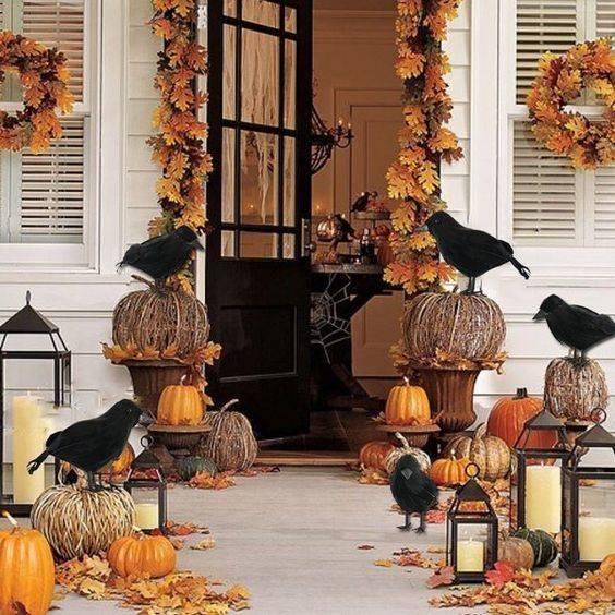 Crows Gathering - Props for Halloween