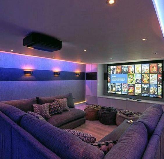 Bursts of Colours - Modern Living Room Lighting