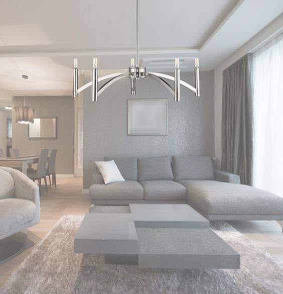 Modern and Refined - Modern Chandeliers for Living Room
