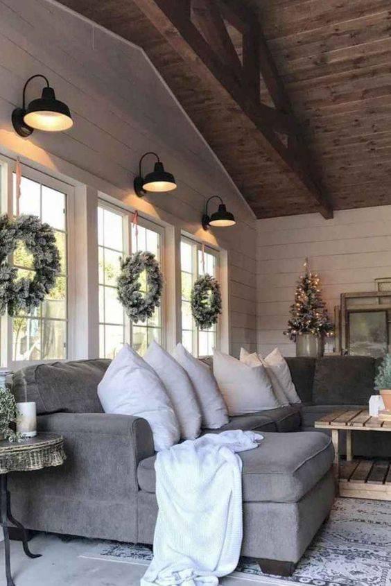 The Modern Farmhouse - Living Room Light Fixtures