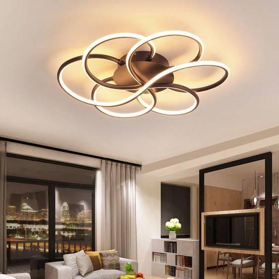 Wonderful in Waves - Modern Chandeliers for Living Room