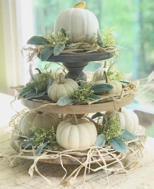 Festive for Fall - Dining Room Table Decor Ideas