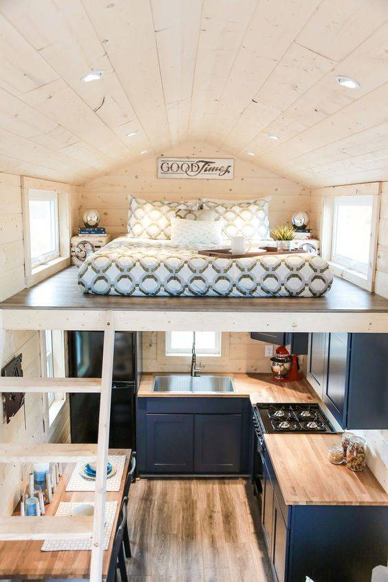 Above Your Kitchen - Gallery Loft Bedroom