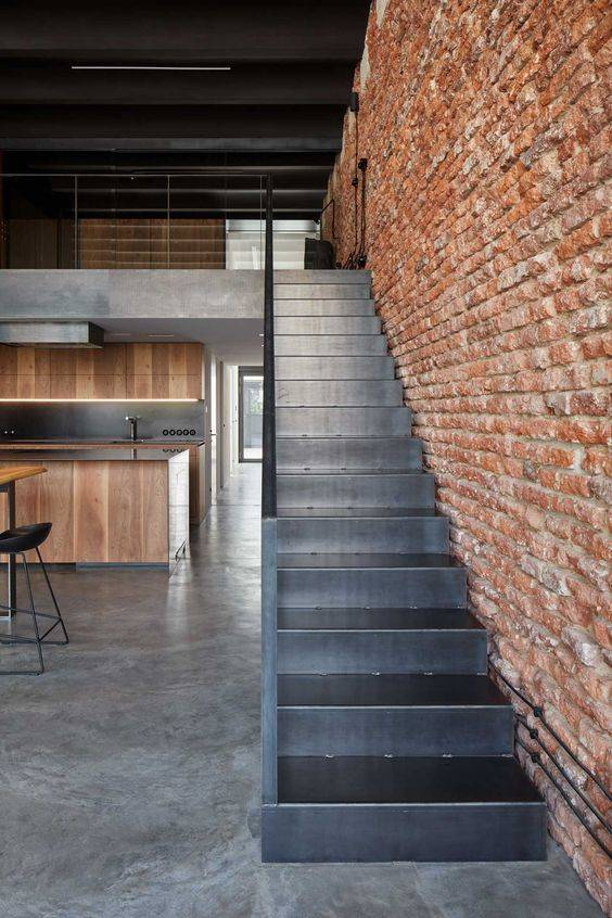 Bricks and Metal - Industrial Gallery Loft Designs