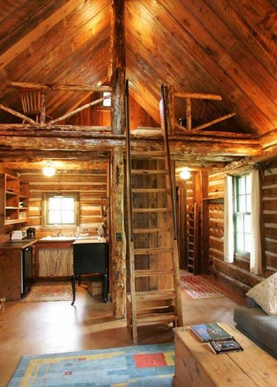 Cabin Vibes - Gallery Loft Ideas